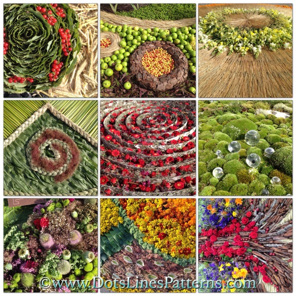 www.dotslinespatterns.com flower carpets